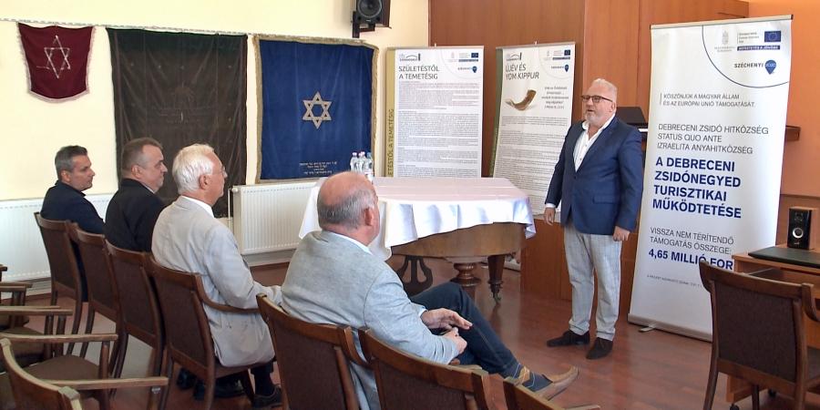 Zsidó Kutatóközpont Nyílt Debrecenben